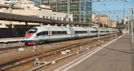 Moscow To St Petersburg By High Speed Train Russia Tours