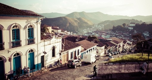UNESCO World Heritage city of Ouro Preto