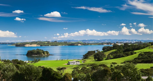 Church bay on Waiheke Island,  New Zealand