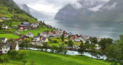 Visit Sognefjord - the deepest fjord in Norway