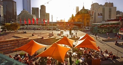 Federation Square at the heart of Melbourne's CBD is a great starting point for your Austalia Vacation