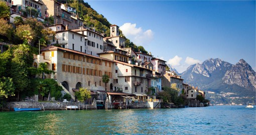 Lugano lies in a bay on the northern side of Lake Lugano and is the largest town in the holiday region of Ticino
