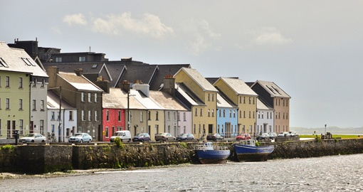 Enjoy Galway's delicious food and colourful coast on your Ireland vacation