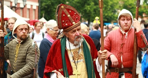 The Medieval Market is Finland's largest medieval and historical events