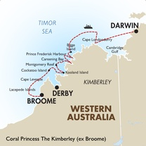 Coral Princess The Kimberley (ex Broome)