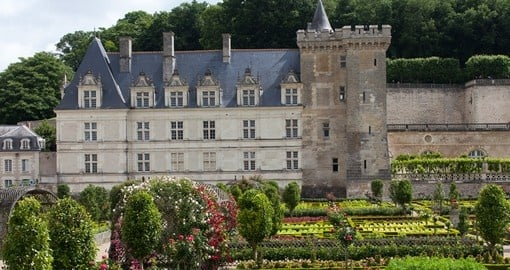 Stroll through historic gardens in the Loire Valley on your France Tour