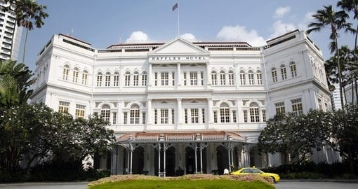 Visit the Raffles hotel on your singapore tour