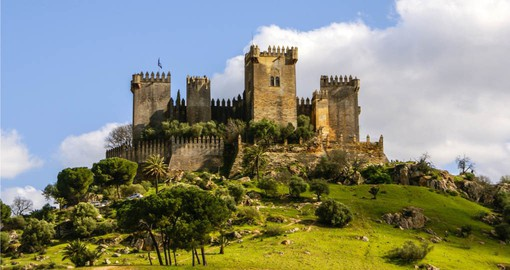 Almodovar del Rio was built by the Moors in 740