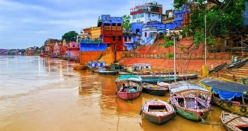 Visit Varanasi on your India vacation