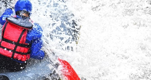 White water rafting the Rio Balsa