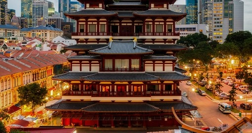 The Buddha Tooth Relic Temple and Museum