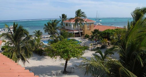 Stay at the Sun Breeze Resort during your Belize vacation.