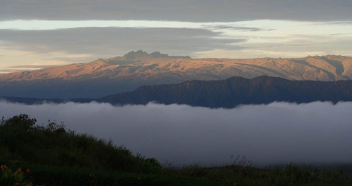 Named after the German colonial officer Curt von Hagen, Mount Hagen is the second highest peak in Papua New Guinea