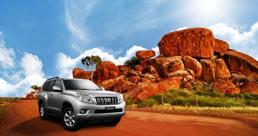 Experience a 4WD through the Outback during your next Australia Vacations.