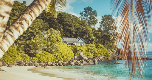 Chalets in the Seychelles