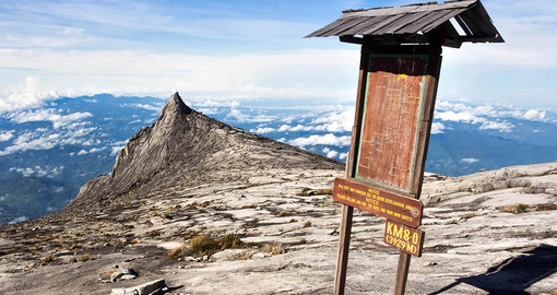 Reach the summit of Mt. Kinabalu on your Malaysia Vacation