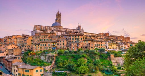 Siena, built between the 12th and 15th centuries is the embodiment of a medieval city