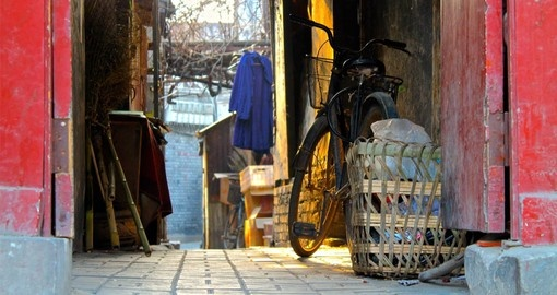 Vist the backstreets of Beijing on your China Vacation