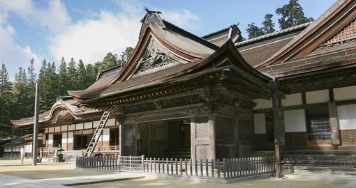 The temples of Koyasan are part of your Japan Tour