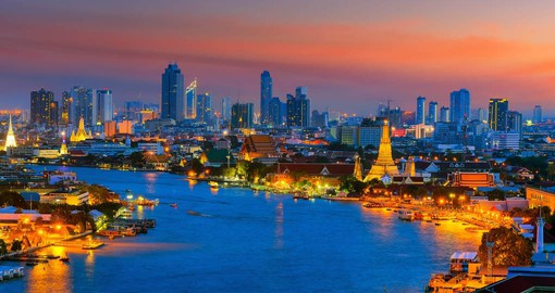 Begin your Thai vacation in Cosmopolitan Bangkok