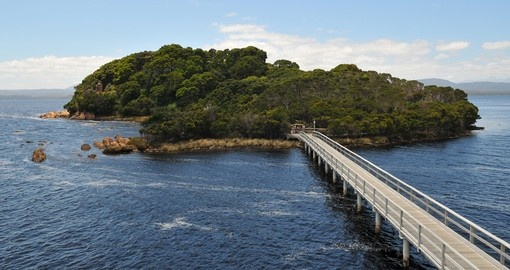 Discover Infamous Sarah Island in Tasmania during your next trip to Australia.
