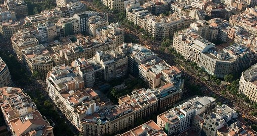 Beautiful Barcelona layout