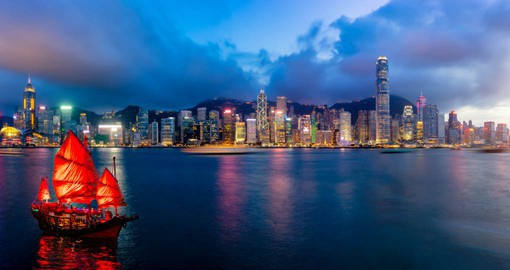 Hong Kong is a dynamic commercial hub the reflects both it's Chinese roots and colonial connections