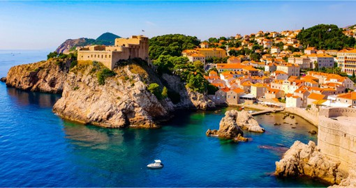 On the Adriatic coast, Dubrovnik is a maze of baroque buildings and limestone streets