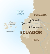 Ecuador Destination Map