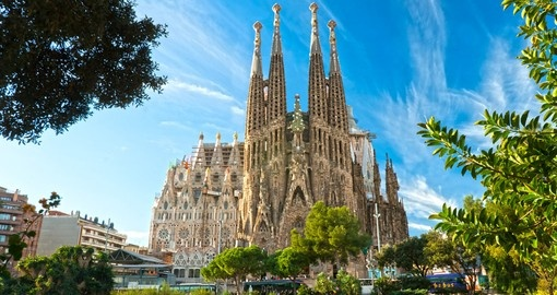 Visit Sagrada Familia church during your next  Barcelona vacations.