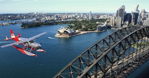 Travel by seaplane on your Australia Vacation