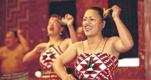 Take in a Maori cultural performance