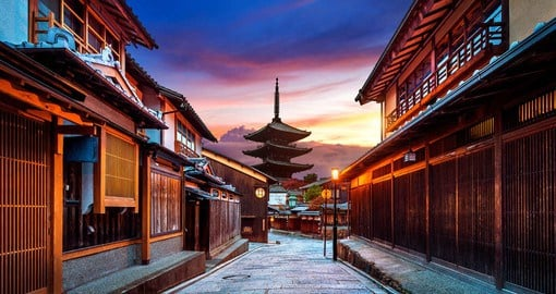 Serving as Japan's capital for over a thousand years, Kyoto is the country's most historic city
