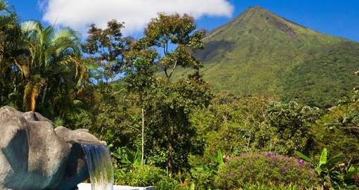 Green side of The Arenal Volcano