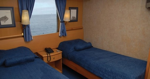 Experience all the amenities of M/V Coral I on your next trip to Ecuador.