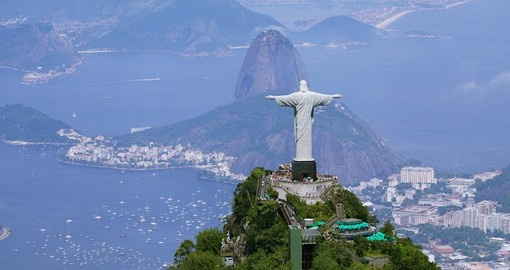 Your Brazil Vacation package begins in Rio de Janeiro