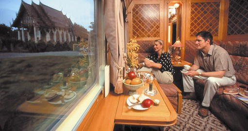 The Eastern Orient Express, a fabled journey through exotic Asia