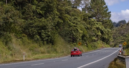On your next Trip to New Zealand drive through the beautiful Whangarei in the Bay of Islands and enjoy the natural scenery all around you.