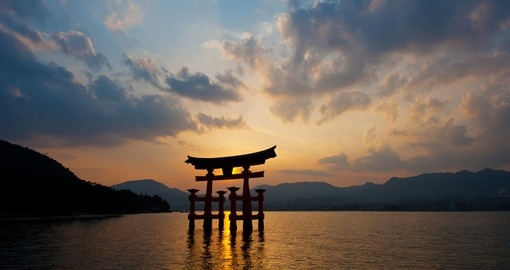 Stop along the waterside and experience the 1400 year old Shinto shrine on one of your Japan Tours