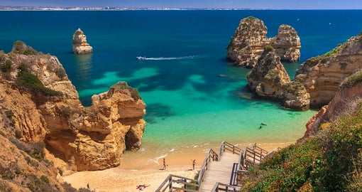 Beautiful beaches of the Algarve