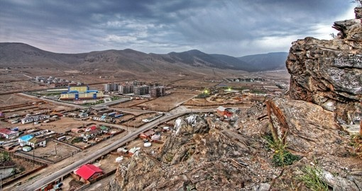 Ulaanbaatar, the cultural, industrial, and financial heart of the country