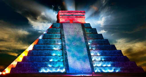 Visit Chichen Itza by Night on your Mexico Vacation