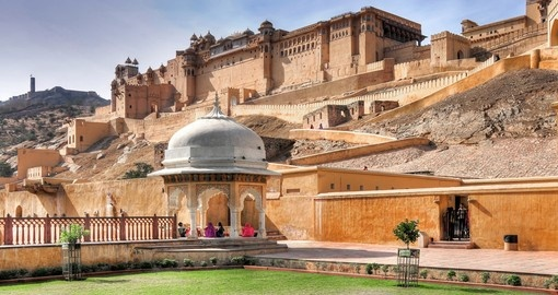 Discover Amber Fort in Jaipur during your next India tours.