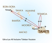 Ultra-Lux All Inclusive Tahitian Vacation