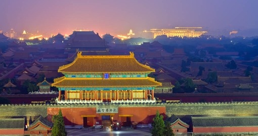 Explore the Forbidden City on your China Vacation
