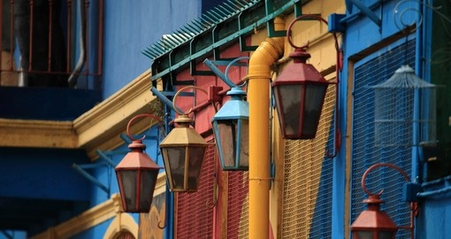 A visit to La Boca in Buenos Aires is a highlight of your vacation in Argentina
