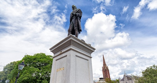 Celebrate poet Robert Burns during Burns Night