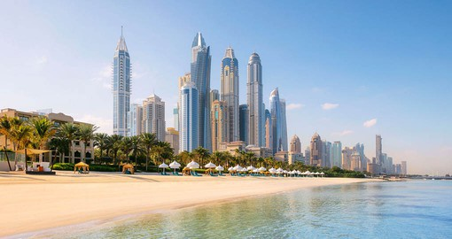 You will be able to learn to water ski during your next trip to Dubai.