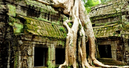 Ruin of Temple in Angkor Thom