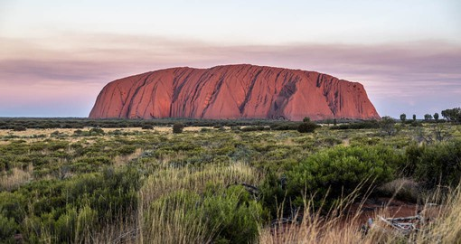 Perhaps Australia's most iconic landmark, Uluru is the heart of the Red Centre